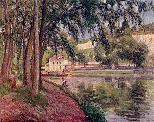 The Loing Canal, Moret