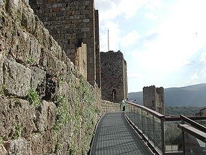 Monteriggioni - City walls of Monteriggioni.