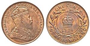 Newfoundland one cent