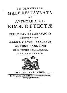 Pietro Paolo Caravaggio