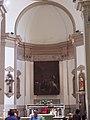 Caravaggio in chiesa.JPG
