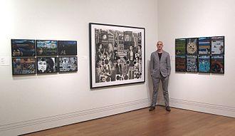 Carl Randall - Image: Carl Randall National Portrait Gallery Travel Award