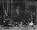 Carl Bloch - En forstyrret middagssøvn - KMS1823 - Statens Museum for Kunst.jpg