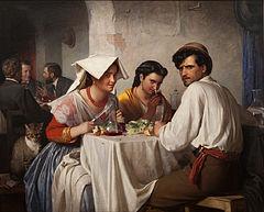 Carl Bloch - In a Roman Osteria - Google Art Project.jpg