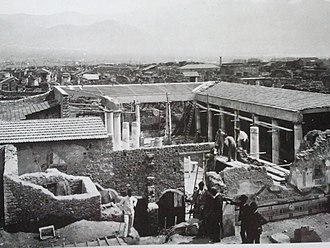 House of the Vettii - Excavations in 1895