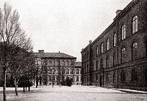 Karolinska Institute - The Karolinska Institute's main building in 1906