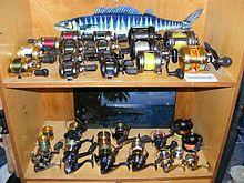 Diversos tipos de carretes para pescar 5cf225d577e