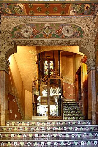 Casa Lleó Morera - Image: Casa Lleo i Morera