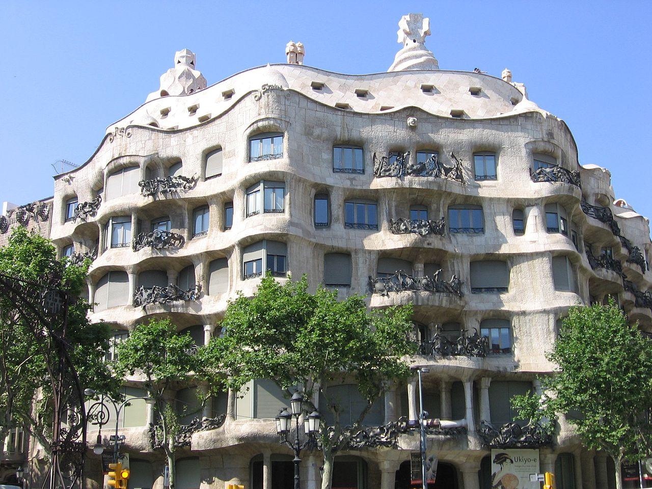 L Eixample Barcelone Espagne Dans Le Centre Ville