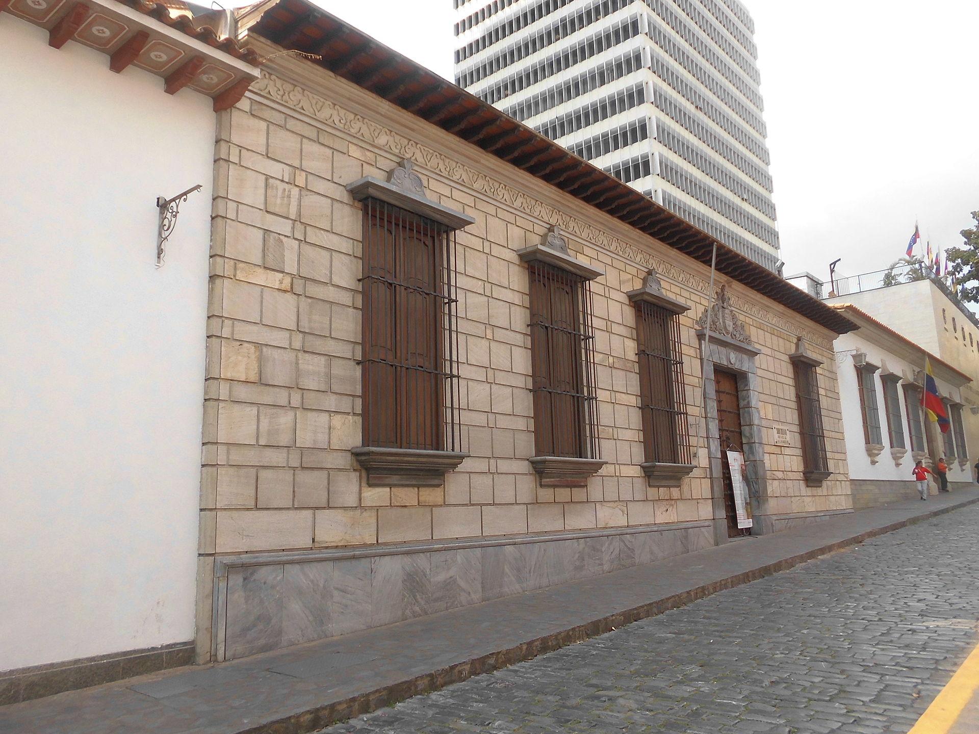 Casa natal del libertador sim n bol var wikipedia la enciclopedia libre - Casa en sabadell centro ...