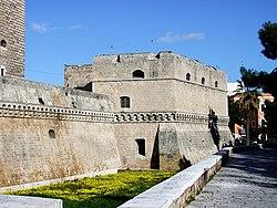 Esterno del castello.