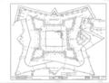 Castillo de San Marcos, 1 Castillo Drive, Saint Augustine, St. Johns County, FL HABS FLA,55-SAUG,1- (sheet 1 of 9).png