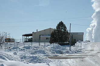 National Register of Historic Places listings in Emery County, Utah - Image: Castle Dale Utah High School Shop