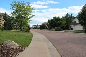 Castle Pines, Colorado - A neighborhood in Castle Pines