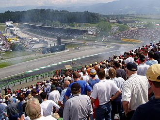 Austrian Grand Prix - Special events are commonly held before the Grand Prix.