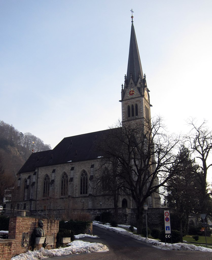 Catedral-Vaduz-Liechtenstein