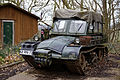 Caterpillar track military vehicle Kelvedon Hatch Nuclear Bunker, Essex England.jpg