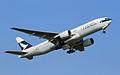Cathay Pacific Boeing 777-200 B-HNL HKG.jpg