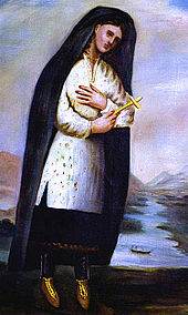 Painting of Kateri Tekakwitha