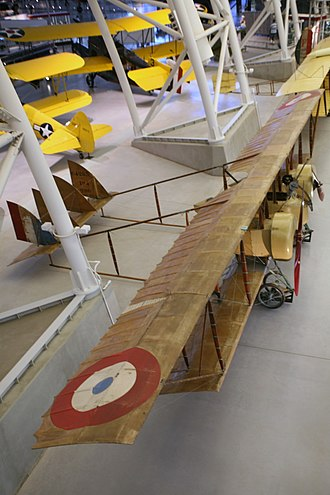 Caudron G.4 - Caudron G.4 in Steven F. Udvar-Hazy Center