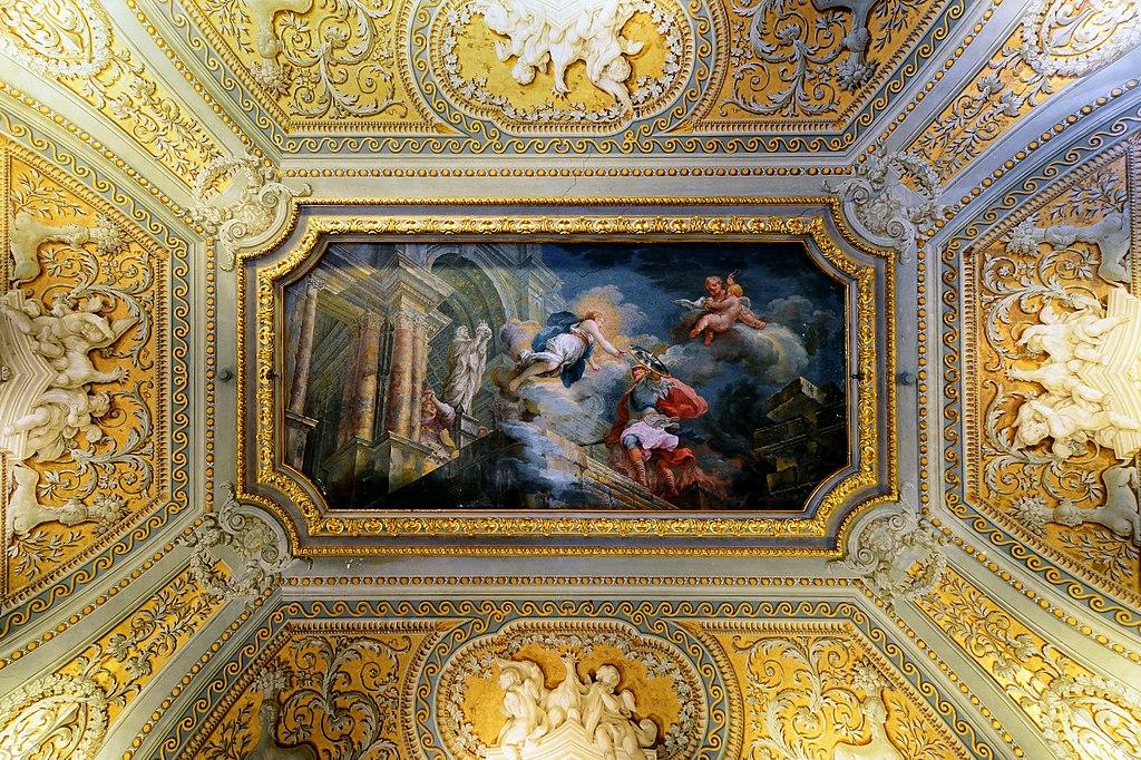 Plafond de la Galleria Doria Pamphilj à Rome - Photo de Livioandronico2013