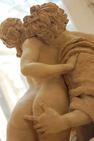 Johan Tobias Sergel - Image: Centaure enlacant une bacchante