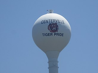 Centerville, Texas - Image: Centerville, TX Water Tower IMG 6237