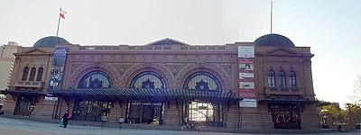 Centro Cultural Estación Mapocho.