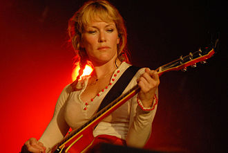 Catatonia (band) - Cerys Matthews (pictured in 2006) and Mark Roberts broke up after the release of Way Beyond Blue