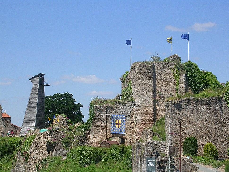 Château Tiffauges entrée