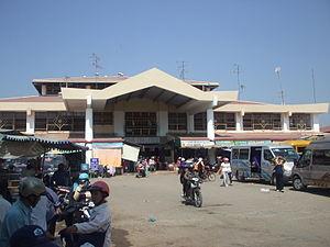 Tịnh Biên District - Image: Chợ Tịnh Biên