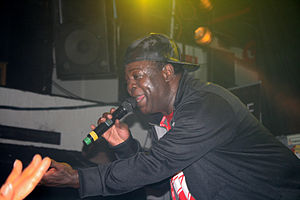 Chaka Demus - Chaka Demus live on stage in Stockholm in 2009