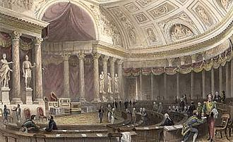 Chamber of Peers (France) - Chamber of Peers in the Palais du Luxembourg (1841)
