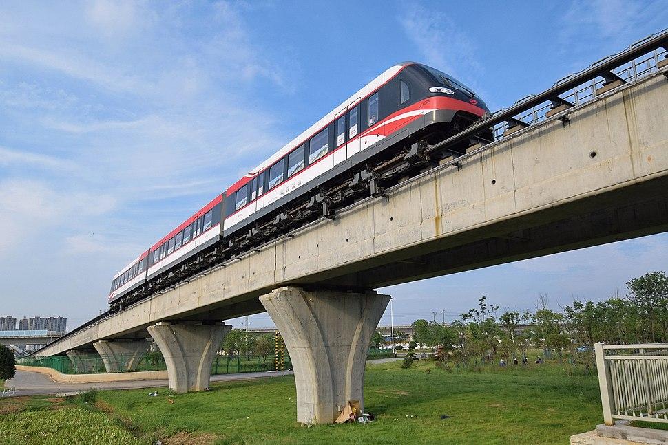 Changsha Maglev Express Train