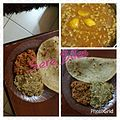 Chapati, Soybeans and lentils.jpg