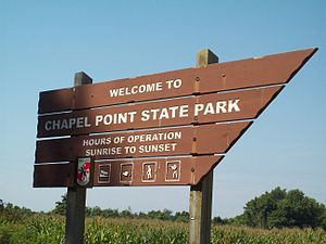 Chapel Point State Park - Image: Chapel Point State Park Sept 09