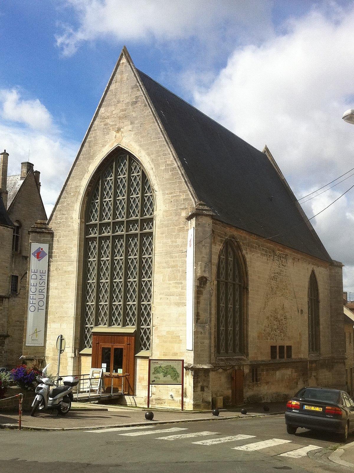 Chapelle saint nicolas d 39 argentan wikip dia - Saint genix sur guiers office du tourisme ...