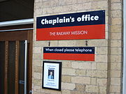 Chaplain Office York Railway Station
