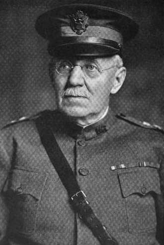 Charles M. Clement - Clement as commander of the 28th Division at the start of WW I.