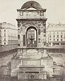 Charles Marville - Fountain of the Innocents, Paris, France.jpg