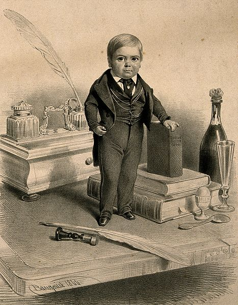 File:Charles S. Stratton, a dwarf known as General Tom Thumb, age Wellcome V0007333.jpg