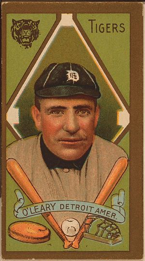 Baseball card of Charley O'Leary