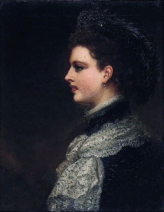 John Spencer, 5th Earl Spencer - Charlotte, Countess Spencer (1835–1903) (Louis William Desanges).