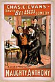 Chas. E. Evans in David Belasco's comedy, Naughty Anthony LCCN2014636669.jpg