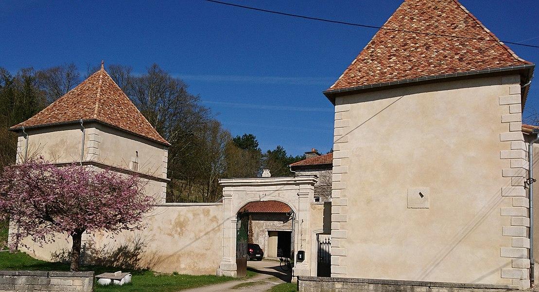 Château de Bicqueley (Meurthe-et-Moselle, France) - Portail