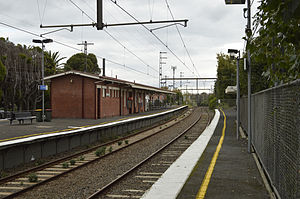 Chatham railway station, Melbourne