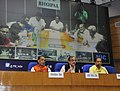 Chaudhary Birender Singh addressing a press conference on Dr. Bhimrao Ambedkar's 125th Birth Anniversary and Panchayati Raj Diwas (Gram Uday se Bharat Uday Abhiyan), in New Delhi.jpg