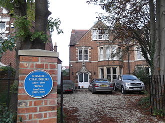 Nirad C. Chaudhuri - Image: Chaudhuri house, Oxford