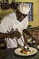 Chef cuisinier restaurateur, Lamin village, Gambia.jpg