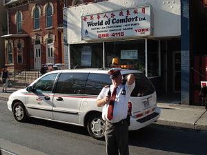 Toronto Transit Commission personnel - TTC Chief Supervisor on Dundas Street